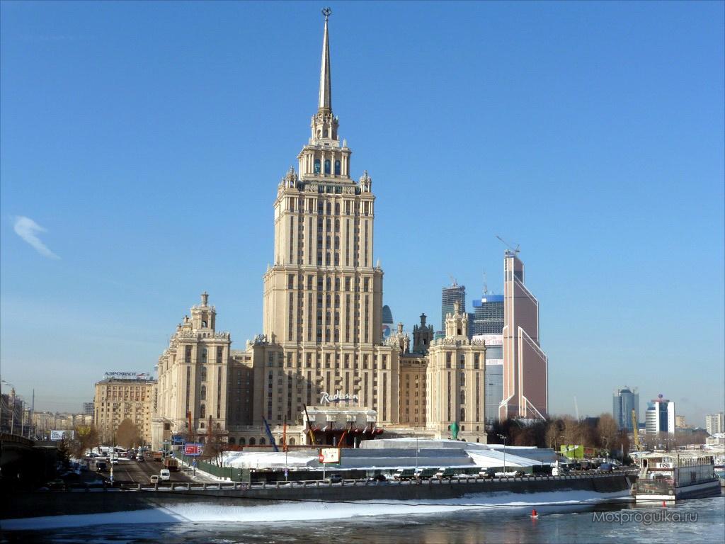 """Самые высокие здания Москвы: гостиница """"Украина"""""""