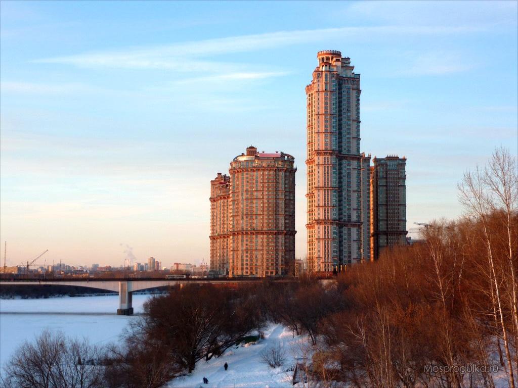 """Самые высокие здания Москвы: ЖК """"Алые паруса"""""""