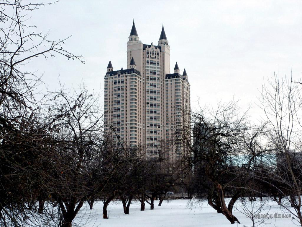 """Самые высокие здания Москвы: ЖК """"Эдельвейс"""""""