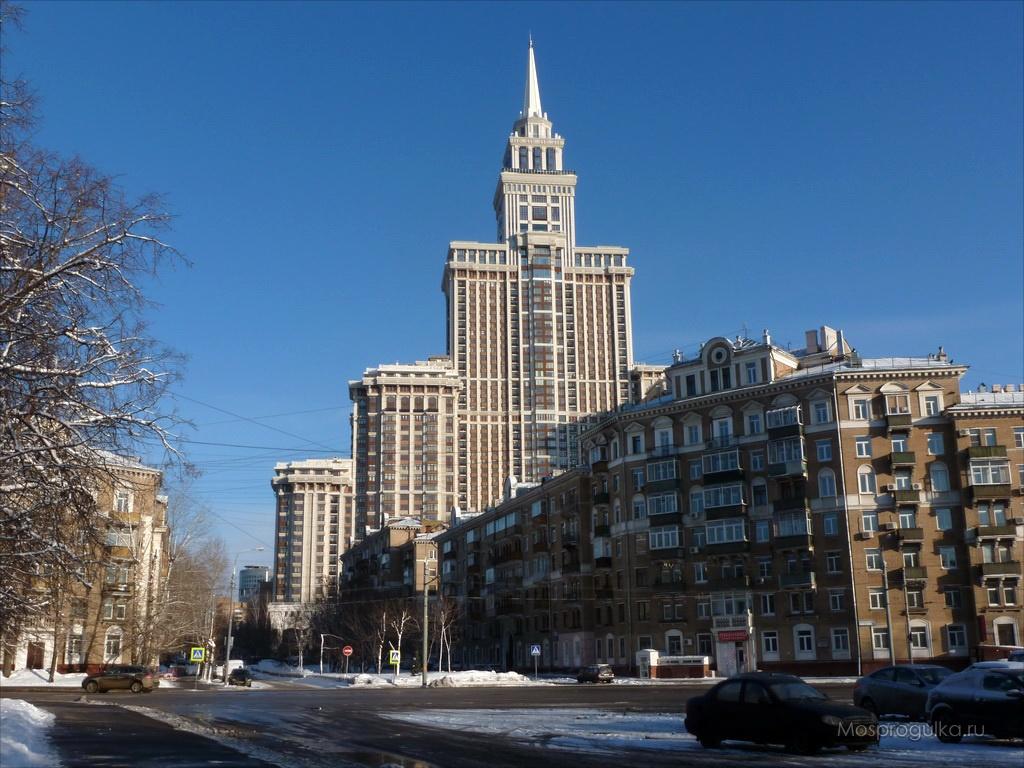 """Самые высокие здания Москвы: ЖК """"Триумф-Палас"""""""
