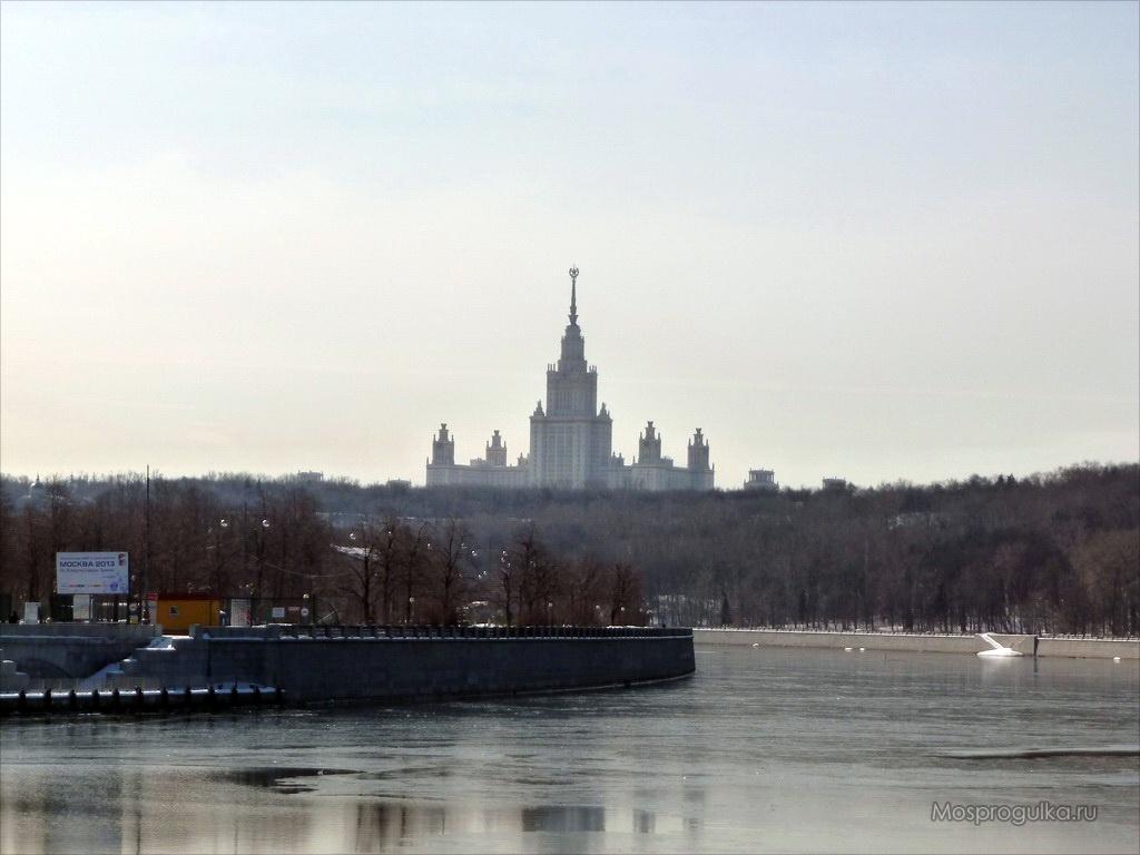 Самые высокие здания Москвы: ГЗ МГУ