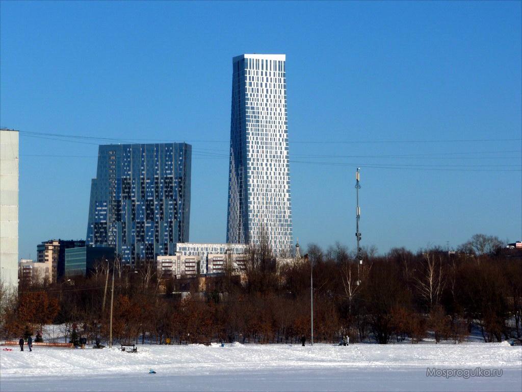 """Самые высокие здания Москвы: ЖК """"Дом на Мосфильмовской"""""""