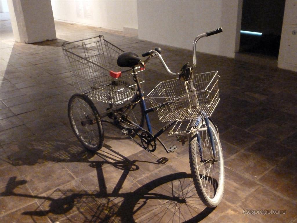 Велосипеды грузовые трехколесные своими руками 4