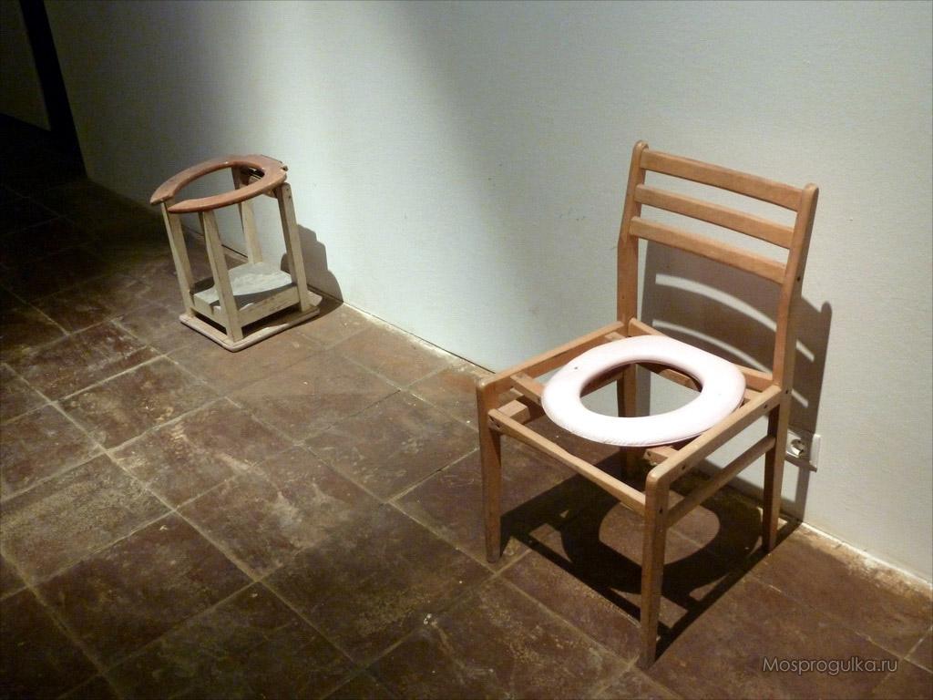 Как сделать стул туалет для больного