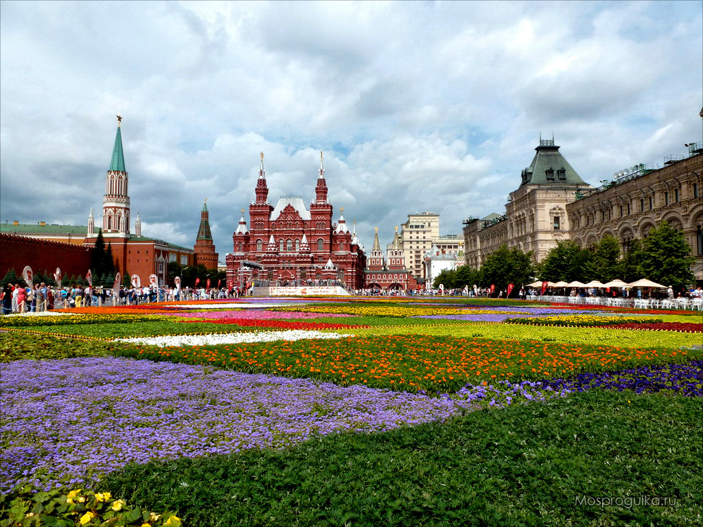 Праздник цветов москва