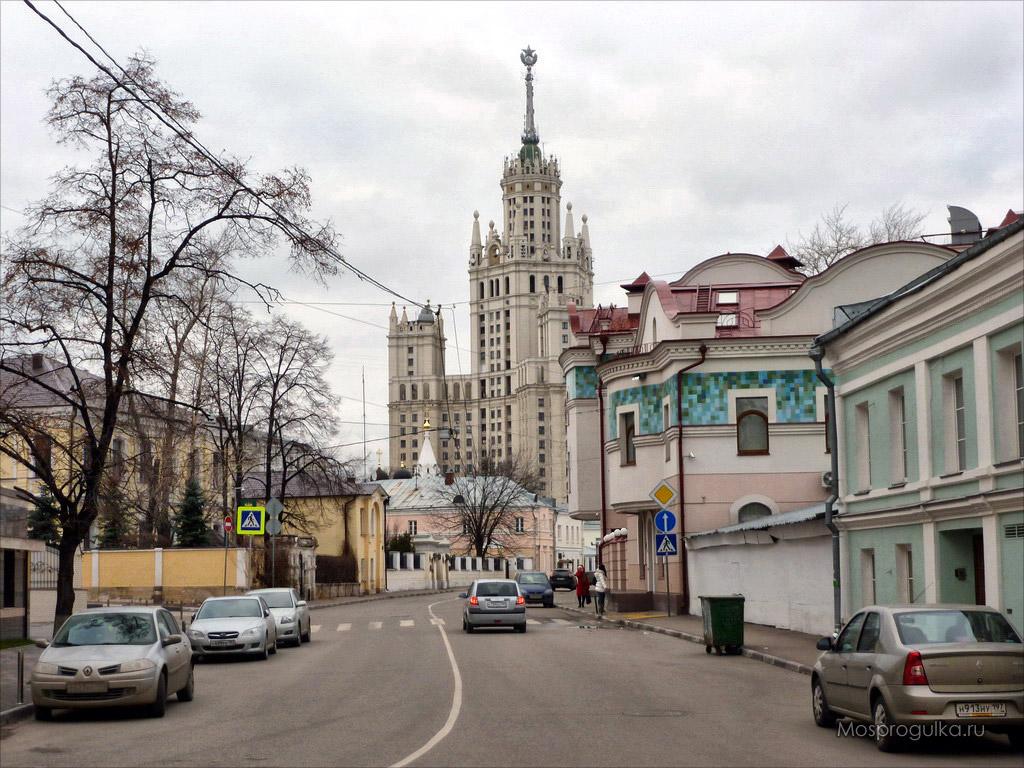 история улиц москвы улица хавская: