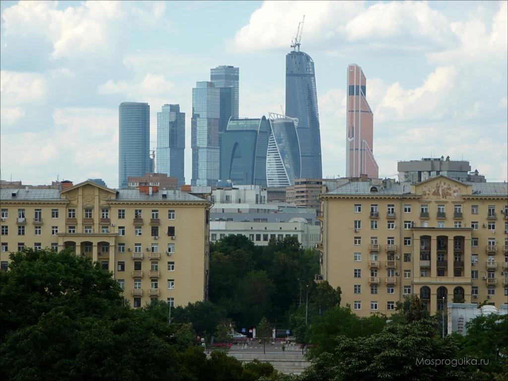 """Самые высокие здания Москвы: ММДЦ """"Москва-Сити"""""""