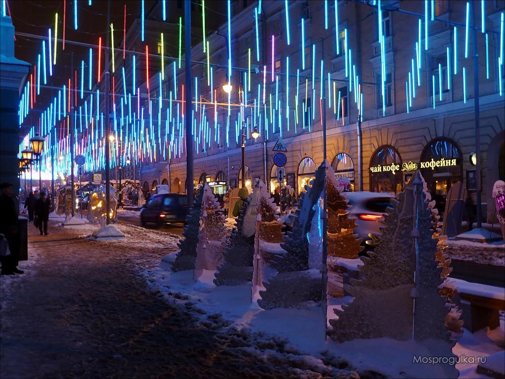 Путешествие в Рождество 2014-2015: Зазеркальное царство на Большой Дмитровке