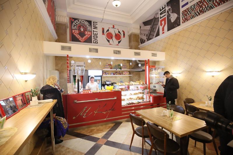 В Москве на станции метро Арбатская открылось кафе в стиле 1930-х