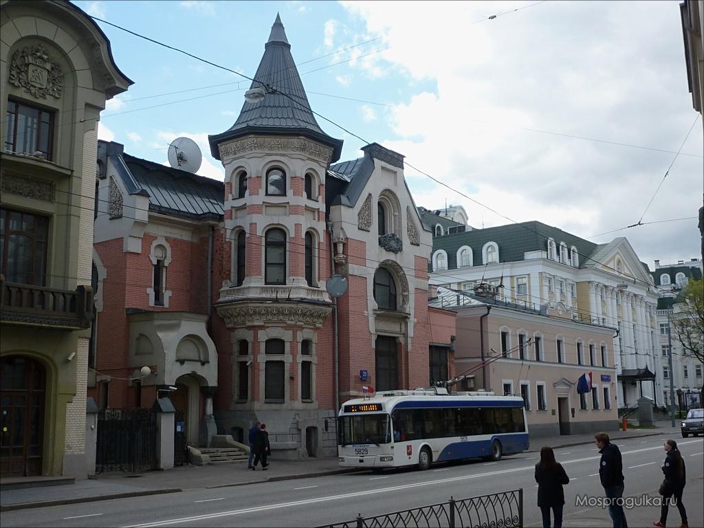 Особняк Льва Кекушева: предполагаемый дом Маргариты на Остоженке
