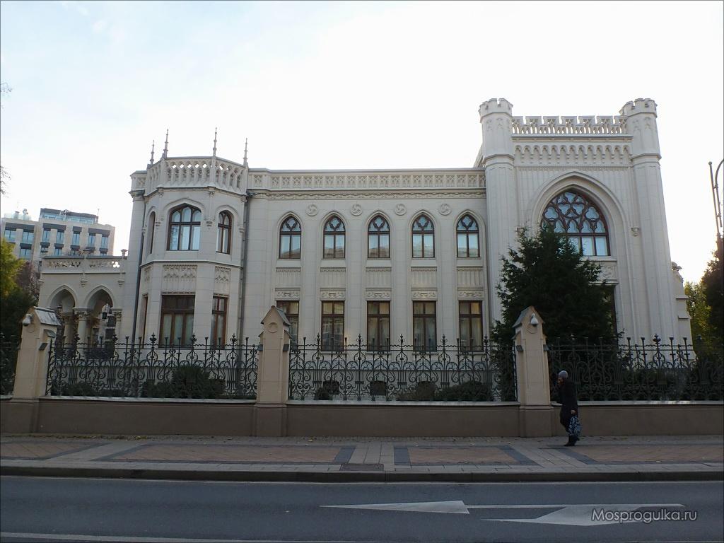 Особняк Зинаиды Морозовой: предполагаемый дом Маргариты на Спиридоновке
