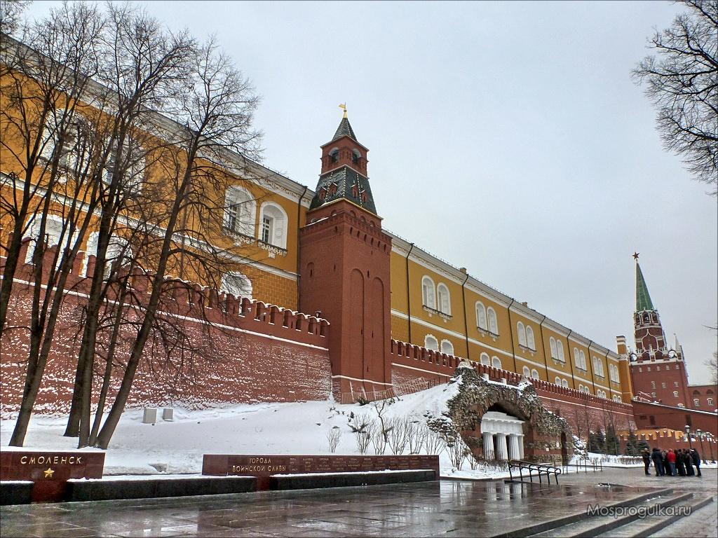 Средняя Арсенальная башня Московского Кремля