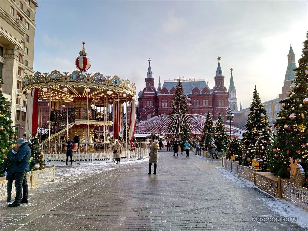 Площадка фестиваля на Манежной площади в 2019 году