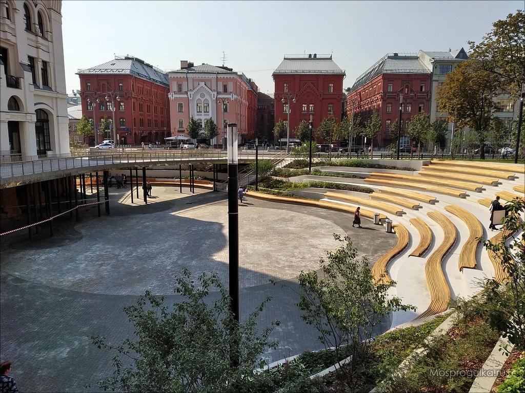 Амфитеатр у Политехнического музея